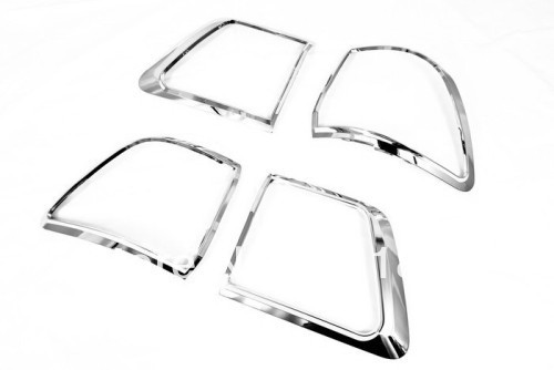 Chrome Tail Light Cover For Toyota Fortuner 2009-2012<br><br>Aliexpress