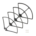 DJI Phantom 4 RC Helicopter Propeller Guard Removable Quick Release Propellers Prop Protectors Guard Bumpers