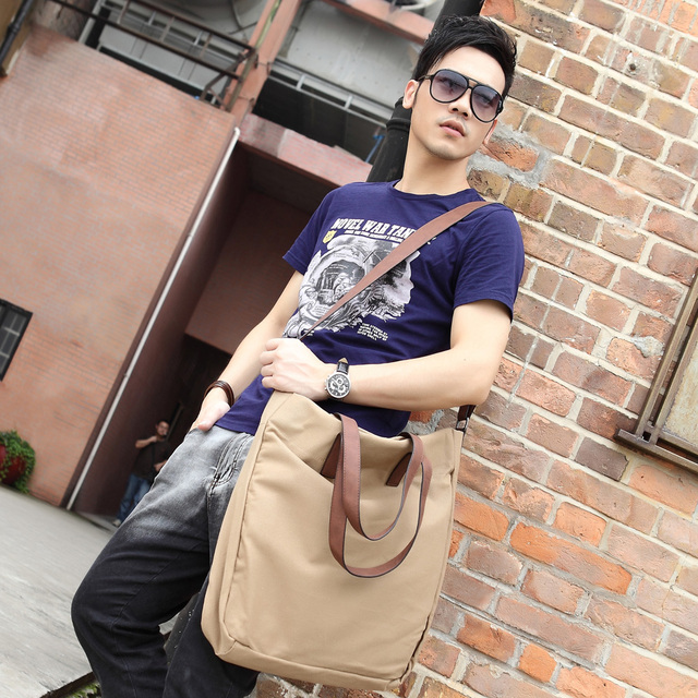 2013 man bag male shoulder bag messenger bag casual bag handbag men's 37
