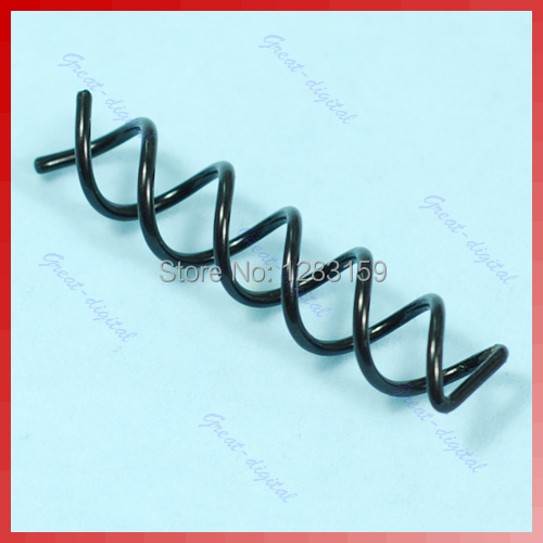 V115 10 Pcs Special Design Hair Coil Clip Screw Pin Comb New(China (Mainland))