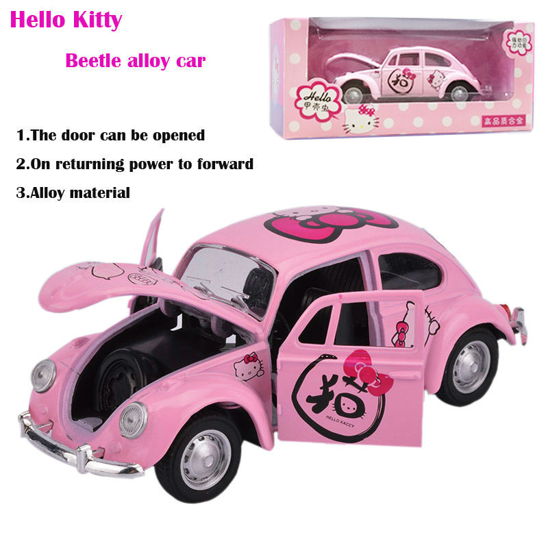 Hello Kitty Toy Car For Girls : Popular beetle toy car buy cheap lots from