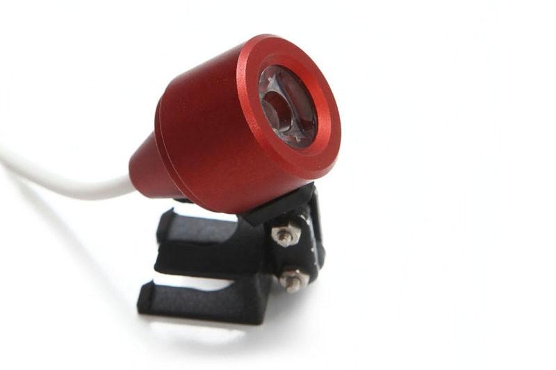 Купить Горячие Продажи Красный СВЕТОДИОД Головного Света Лампа для Стоматологической Хирургической Медицинской Бинокулярные Лупы + Защитный Чехол