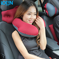 New TPU Inflatable Car U Shape Headrest Pillow Car Headrest Supplies Neck Auto Safety Pillow Car