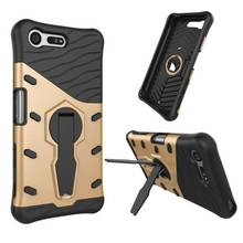 Buy Phone Case Sony Xperia X Compact X Mini F5321 PS30 XC 4.6 inch Heavy Duty Hybrid Hard Rugged Cover Unique Back Cover Hood for $3.08 in AliExpress store