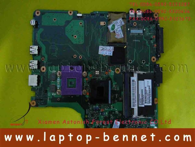 V000108660 For Toshiba Satellite A200, A205 Intel Motherboard Fully Working
