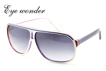 Eye wonder Men's Handmade Acetate Polarized Designer Sunglasses Oculos de sol Gafas de sol Glasses Frames UV Protection