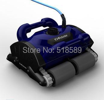 Free Shipping Intelligent Robot Swimming Pool Cleaner Swimming Pool Automatic Cleaning Robotic Cleaner Cleaning Equipment(China (Mainland))