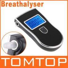 Gadgets Meter Prefessional Police Digital Breath Alcohol Tester battery the Breathalyzer Dropship Parking Car Detector Gadget(China (Mainland))