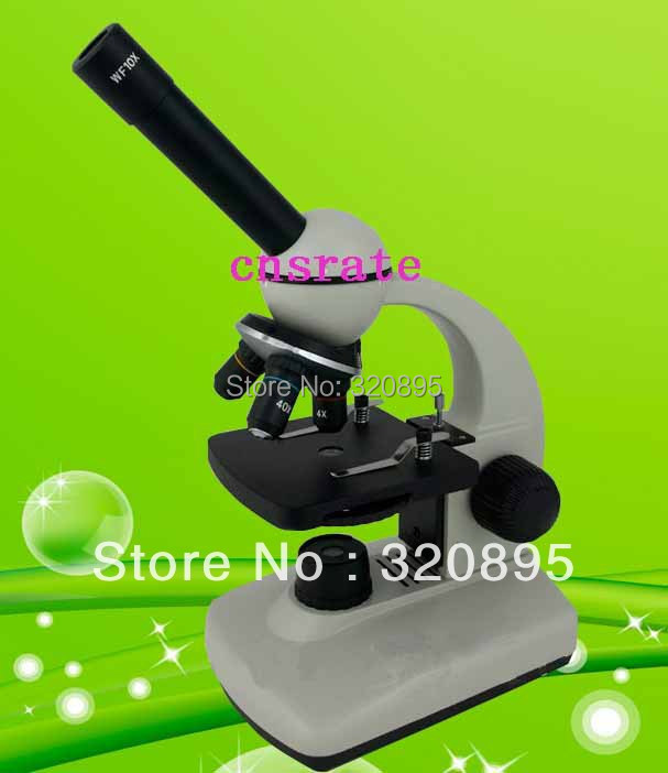 Monocular Biological Compound Microscope with LED Light TXS05-05-RC<br><br>Aliexpress