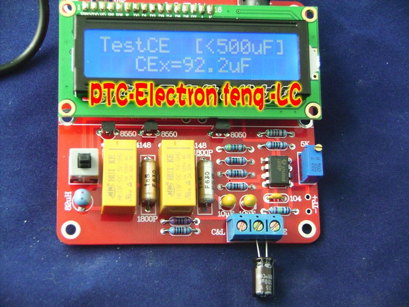 M8 Digital LCD High Precision Inductance Capacitance L/C Meter New Version DIY - International world trade co., LTD store