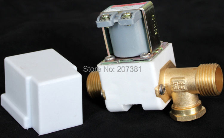 "free shipping Electric Solenoid Valve For Water Air N/C 24V DC 1/2"" Normally Closed TFW-1S(China (Mainland))"