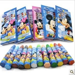 Гаджет  Hotsale! 12 pcs /lot  Mickey Twelve color pen/Lovely Twelve colour painting pencil/Gift/Free shipping None Офисные и Школьные принадлежности