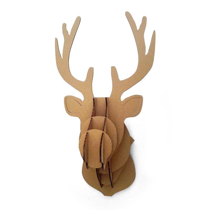 Achetez en gros carton animal t te en ligne des - Tete d animal murale ...