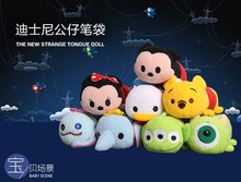 1234 Minnie Mickey Mouse and Donald Duck, Popeye cartoon plush pencil case, cell phone bag, cosmetic bag(China (Mainland))