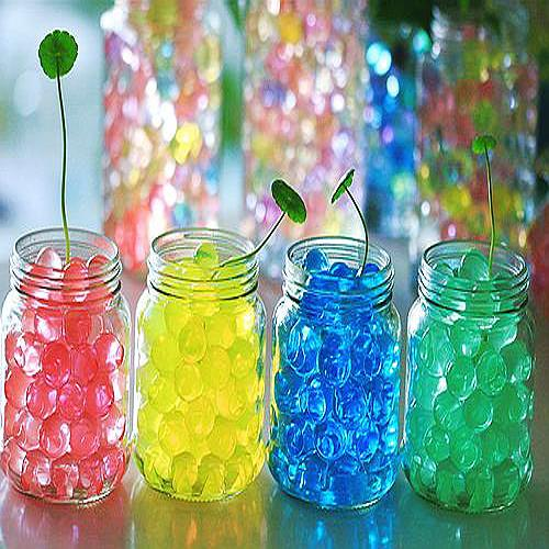 New Water Aqua Crystal Soil Wedding Gel Ball Beads Vase Centerpiece