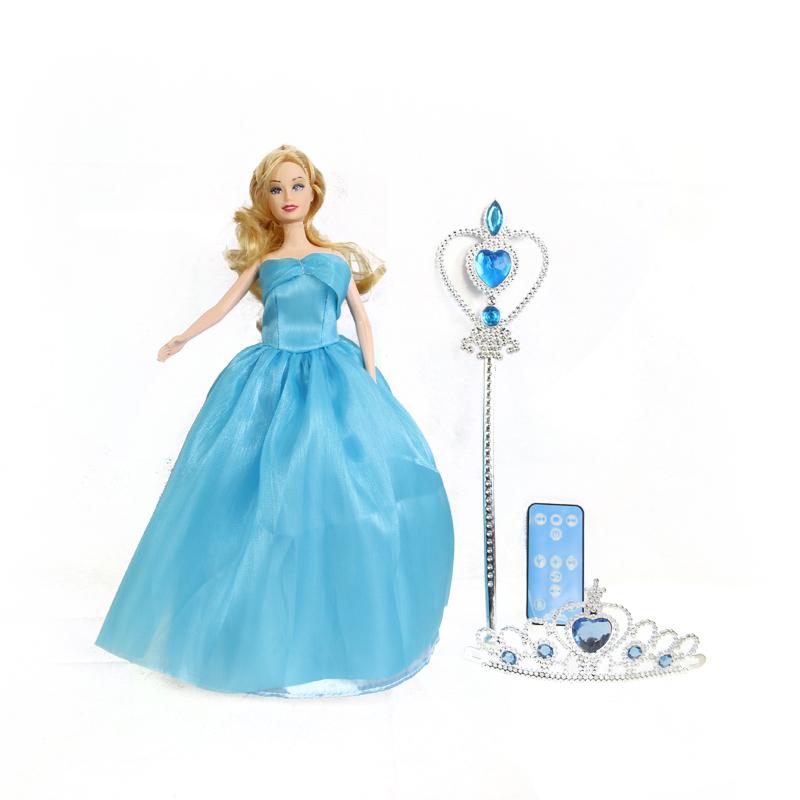 Music Doll Toys Remote control dance Kids Girl children Learning Machine present Elsa anna<br><br>Aliexpress