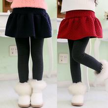 New Arrive 2014 winter Retail girl legging Girls Skirt-pants Cake skirt  girls  warm pants kids leggings Skirt-pants Cake skirt
