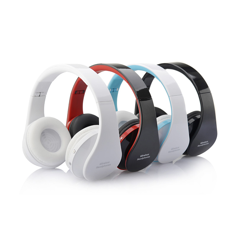 Stereo Foldable Bluetooth Headphones Earphone Earbuds Handsfree Music Wireless Headset with Mic Microphone for iPhone Galaxy HTC(China (Mainland))