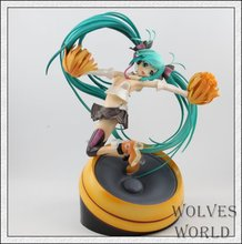 Anime Figure 20 CM Miku Hatsune Cheerful Ver . PVC Action Figure Collection Model Toy
