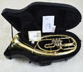 Bb Baritone Three Valves in Lacquer Finish With ABS case Musical instruments Free shipping