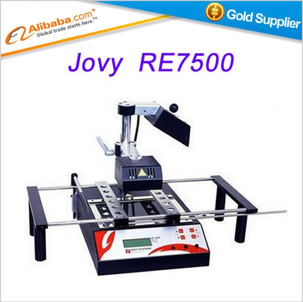 Hot selling JOVY system bga rework equipment,jovy RE7500 RE 7500, infrared bga machine bga rework station(China (Mainland))