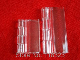30*4cm clear plastic Hinge in High Quality with Free TNT/DHL Shipping(China (Mainland))
