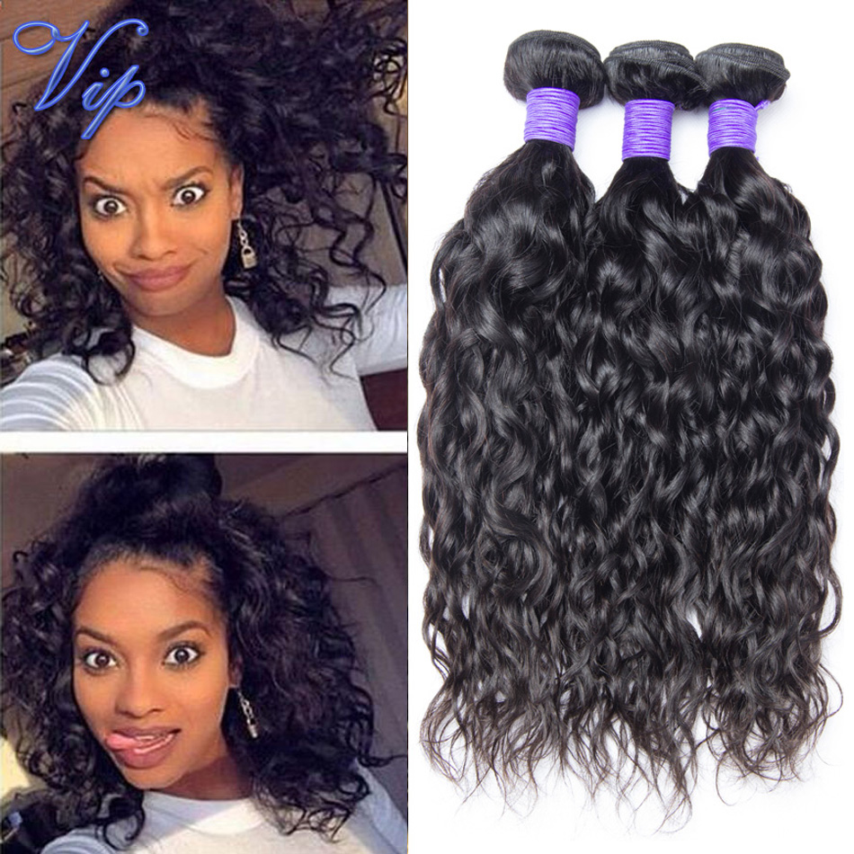 Buy Grace Hair 7a Brazilian Virgin Hair Water Wave 3 Bundles Brazilian Wet And