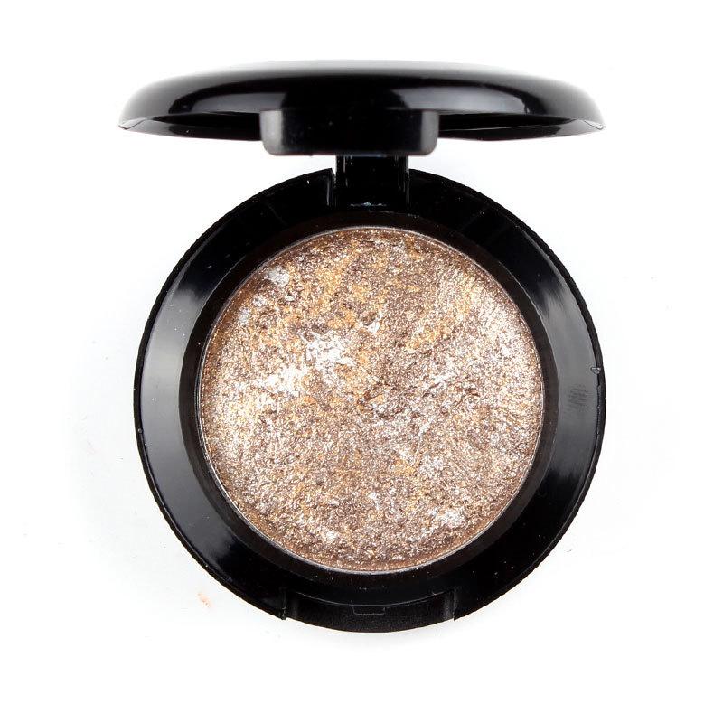 New Pro Women Natural 12 Colors Long Lasting Baked Shimmer Metallic Eyeshadow Palette Makeup #75747(China (Mainland))