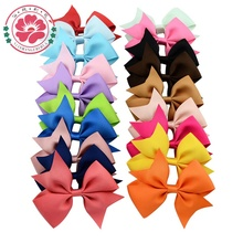 Buy 40 pcs 3.5'' Grosgrain Ribbon Bows WITH Alligator Hair Clips Boutique Bows Hairpins Girls' Hair Accessories 565 for $8.88 in AliExpress store
