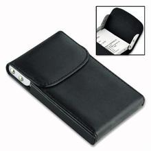 Xmas Pocket Leather Business Credit Card Holder Case Black EG0119
