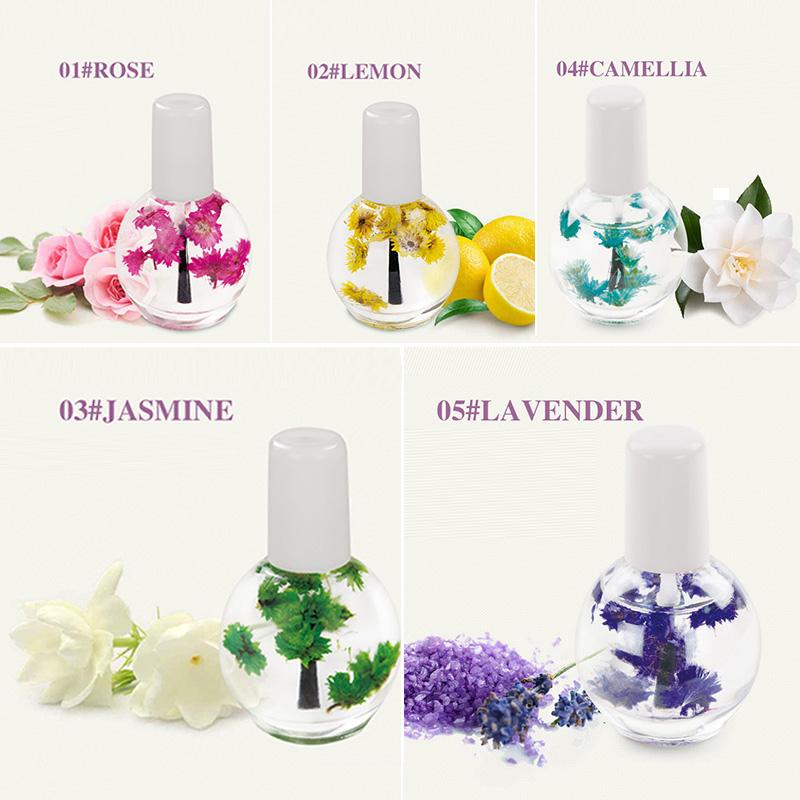 Keep Nail Polish Off Cuticles: Dry Flower Nourishment Oil Nail Cuticle Processing Tools