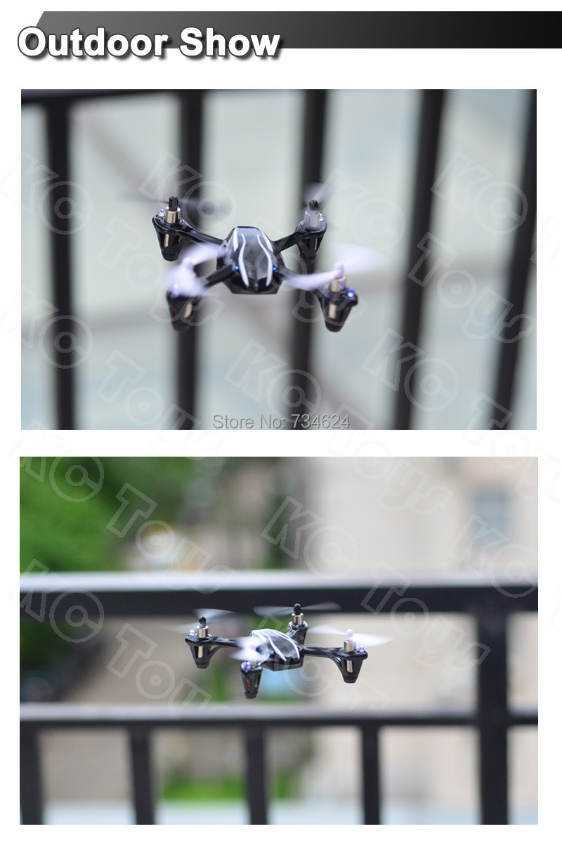 New Version Upgraded Hubsan X4 H107L Drone 2 4G 4CH RC Quadcopter RTF Mini RC Helicopter