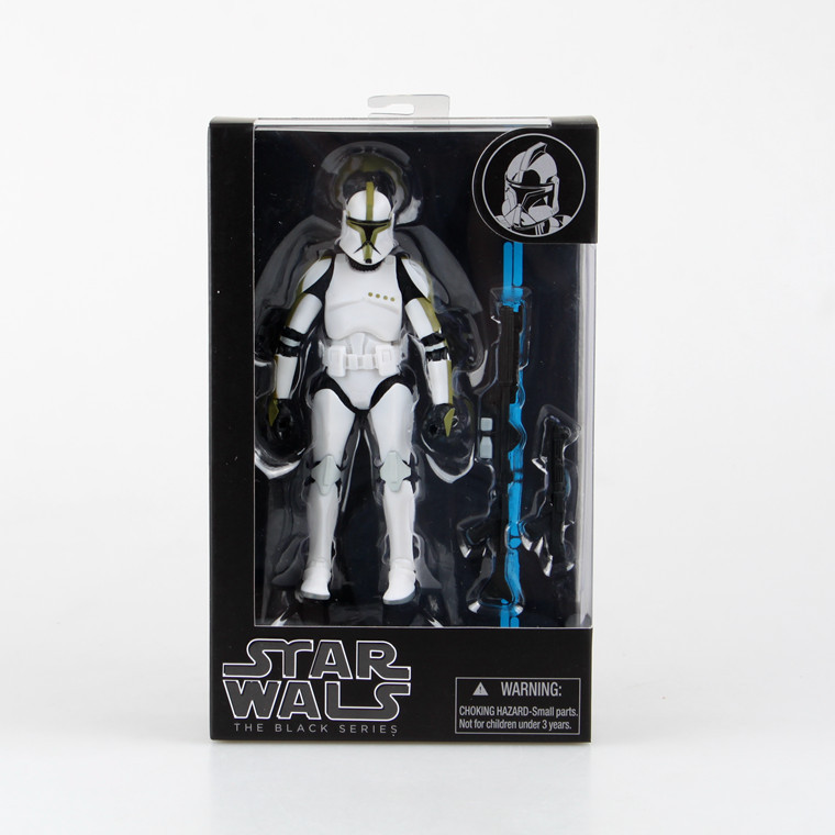 12 Style STAR WARS BLACK SERIES 6 SDCC PVC Action Figure Collection Model Toy 15cm