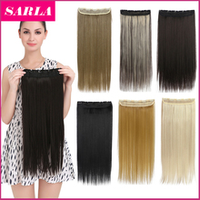 50 Colors !!! Clip In Hair Extensions 24'' 60cm Long Straight Natural Hairpiece Heat Resistant Synthetic Hair Extension 666(China (Mainland))