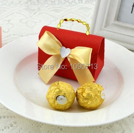 small carry bag candy boxes wedding favors gift boxes candy box