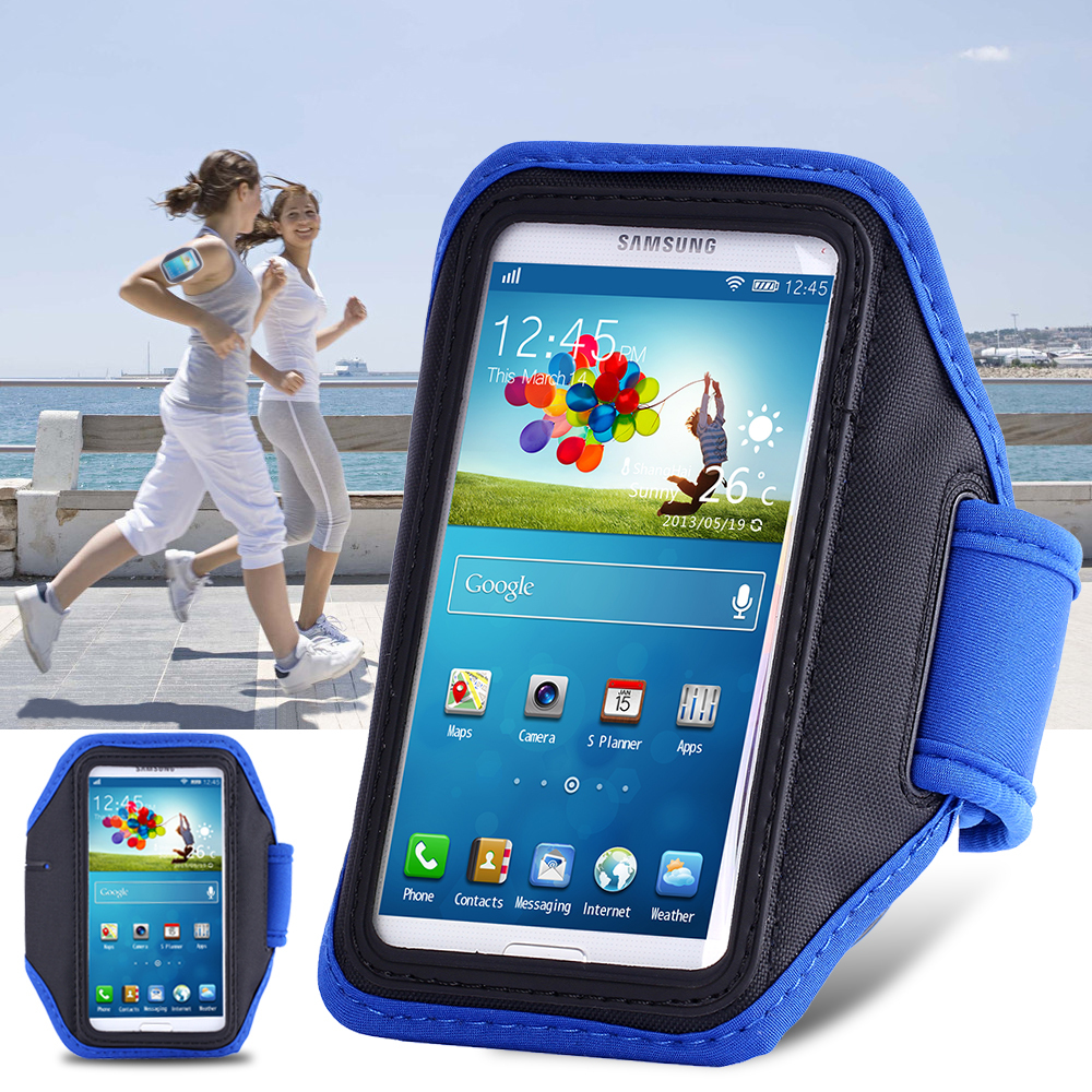 Top Quality Durable Waterproof Fabric Running Sport Arm band Phone Case For Samsung Galaxy S5 SV I9600 S4 SIV I9500 S4 SIII I930(China (Mainland))