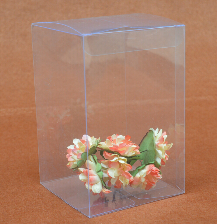 More sizes you can choose Small PVC Box clear Gift Craft display Box small Jewelry packing holder Transparent Clear plastic box(China (Mainland))