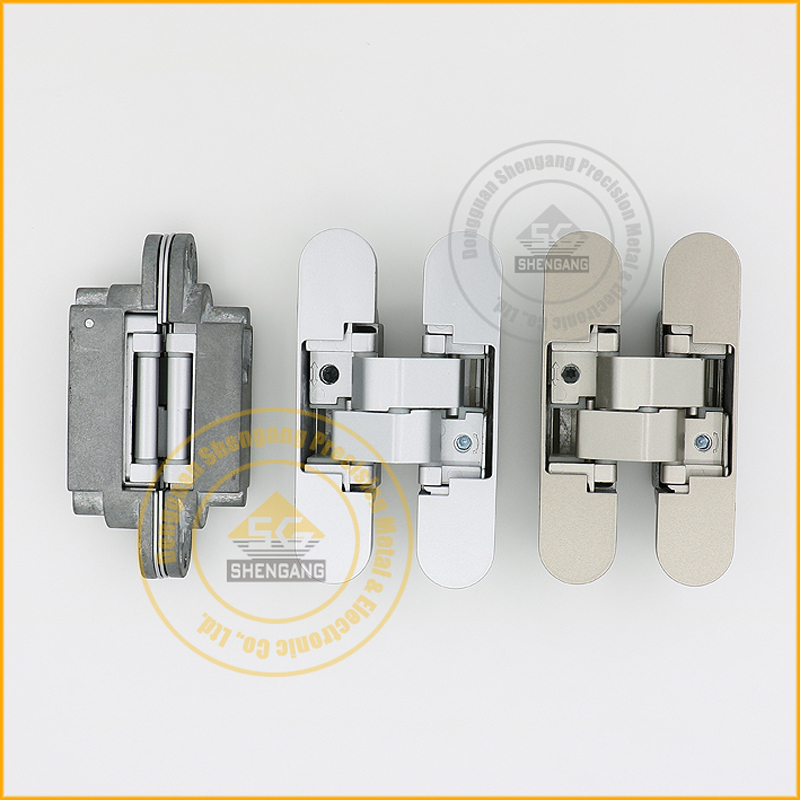 Adjustable concealed hinges for doors door hinges in furniture hinges from home improvement on for Adjustable hinges for exterior doors