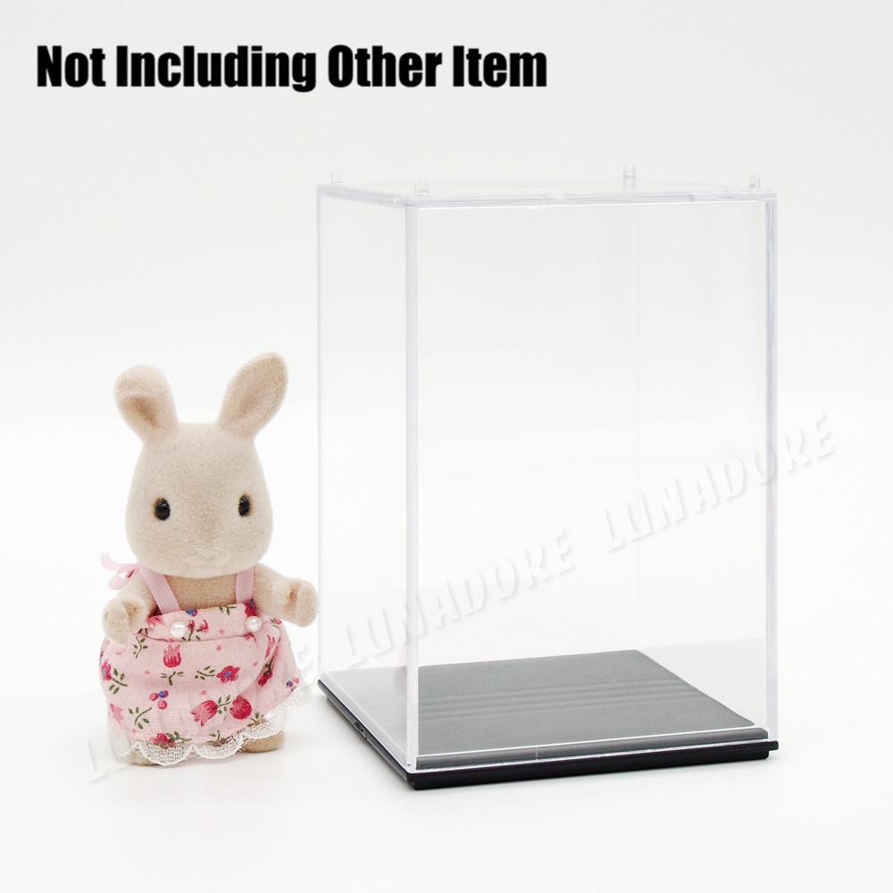 "US warehouse, US shipments,Clear UV Acrylic/Plastic Display Box Minifigure Showcase 2.75""(L)x2.75""(W)x3.93""(H)(China (Mainland))"