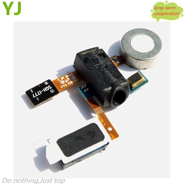 Free shipping Earpiece Speaker Earphone Jack Flex Cable Replacement For Samsung Galaxy S II I777(China (Mainland))