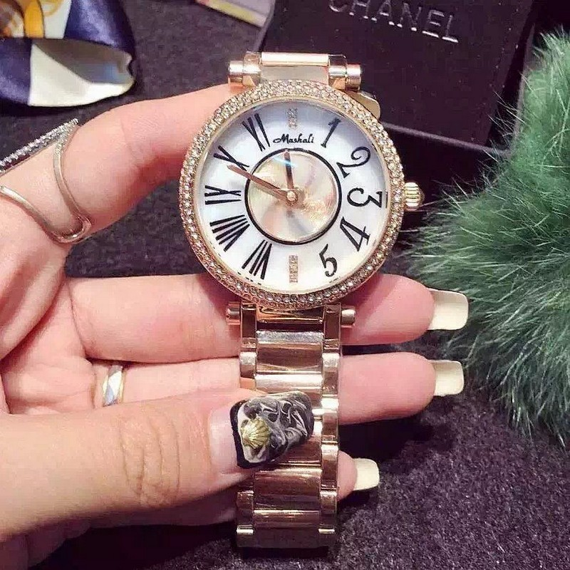 luxury women watch 2015 new fashion gold can rotate dial rhinestone quartz watch girls casual. Black Bedroom Furniture Sets. Home Design Ideas