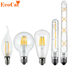 Buy Low price LED Edison Bulb E27 Vintage bombillas LED Lamp 220V T185 T300 Retro Filament Light Candle Light Lamp 3W 6W 7W 8W for $1.36 in AliExpress store