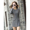 2016 winter new cashmere woolen coat and long sections Slim was thin woolen coat ladies tide