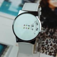 2015 nuevas mujeres del reloj WMG diseño innovador a su vez la placa Casual Watch Women Watch vestido cuarzo analógico reloj de pulsera reloj