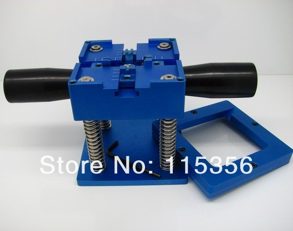 Free shipping KF-10 90mm BGA Reball station with handle PCB chip holder jig reballing tools kit