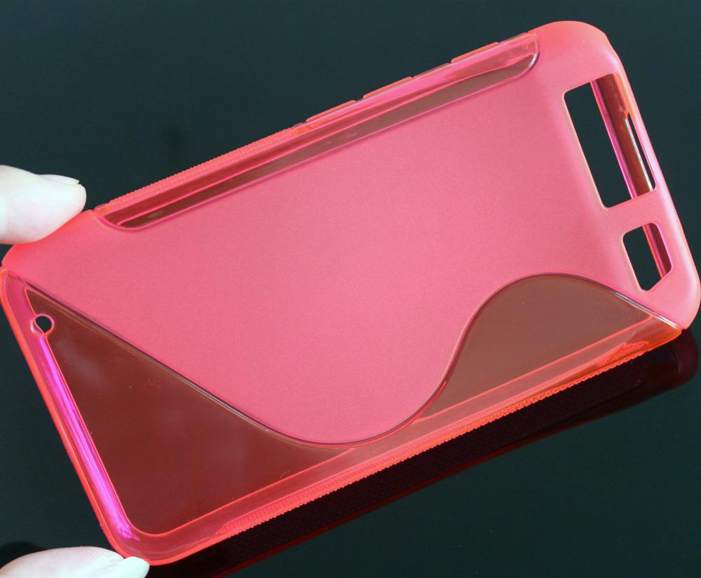 High Quality S-Line Anti-Slip Design SOFT RUBBER GEL SKIN COVER CASE FOR Motorola ATRIX HD MB886 New(China (Mainland))