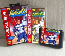 16 Bit MD card for Sega MegaDrive for Genesis With Manual Book + Retail Box --- The Punisher(China (Mainland))