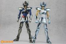 Японское аниме фигура Spot LC модель Saint Seiya Миф Ткань Темного и белого Pegasus Seiya ation рисунок модель игрушка наборы