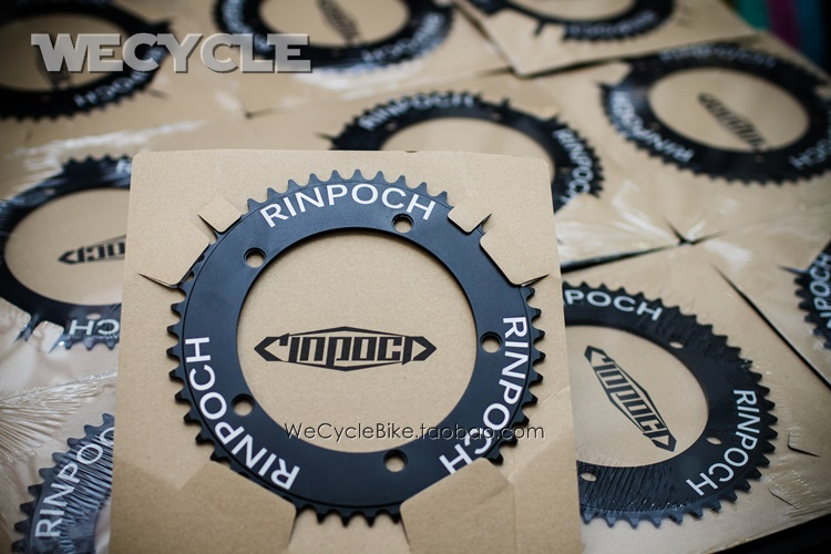 Rinpoch RN1130 BCD144 49T 51T Fixed Gear Bicycle Single Speed Bikes Crankset Crank Chainrings Parts
