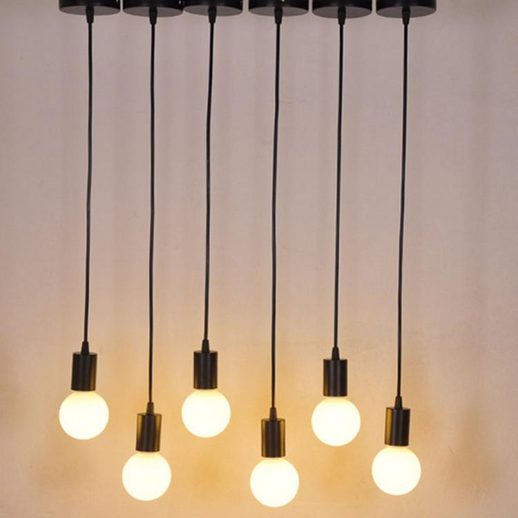 Modern Creative  E27  long bar Hose bending night light  pendant lamp Spotlight home decor Indoor lighting
